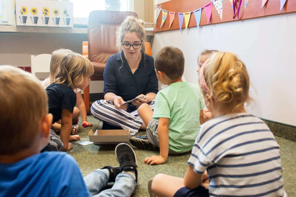 Wczesna nauka czytania - zajęcia grupowe